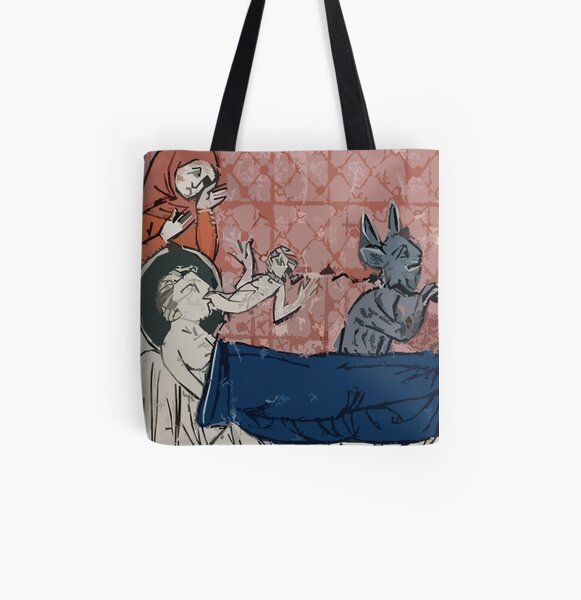 When Your Buddy's Soul Is Taken By The Devil All Over Print Tote Bag