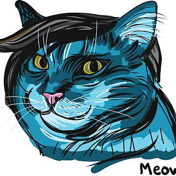 Hipster Kitty by sheenachu