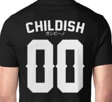 Childish Jersey v2: White Unisex T-Shirt
