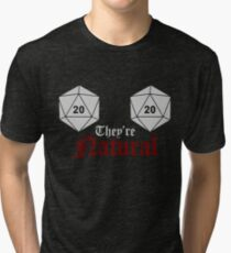 They're natural Tri-blend T-Shirt