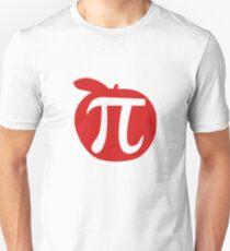 Apple Pi Apple Pie Funny Math Comedic Design T-Shirt