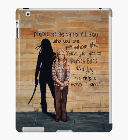 This is Who I Am iPad Case/Skin