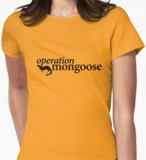 Operation Mongoose Women's Fitted T-Shirt