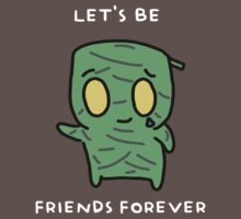 "Amumu - ""LET'S BE FRIENDS FOREVER"" - WHITE TEXT/DARK SHIRTS 