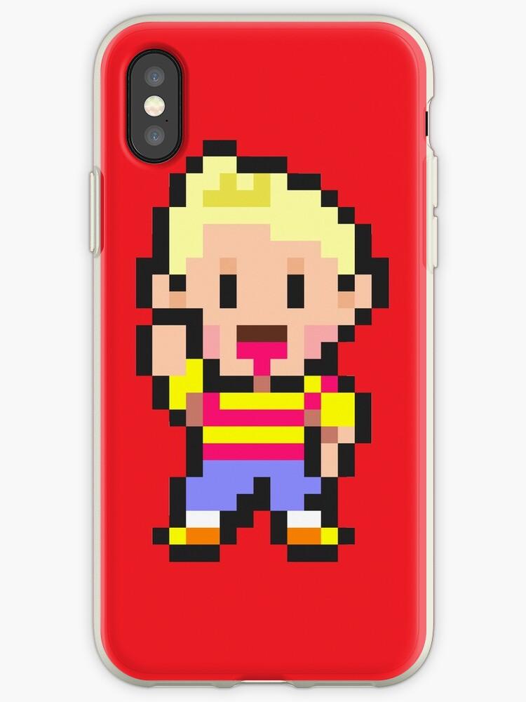 'Lucas - Mother 3' iPhone Case by fuzzynegi