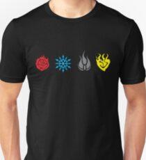 RWBY - Symbols No Text Unisex T-Shirt
