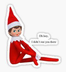 Elf on the Shelf Sticker