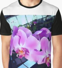 Gorgeous Orchids Graphic T-Shirt