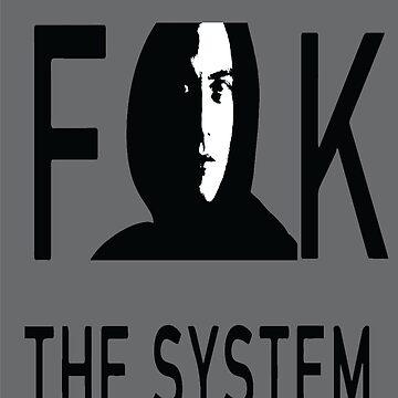 mister robot - americain drama-thriller television - Rami Malek - hacker by SirMooh