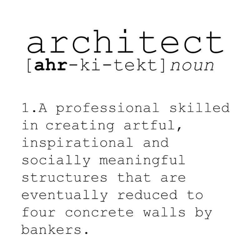 Architect definition dictionary art print dictionary art office