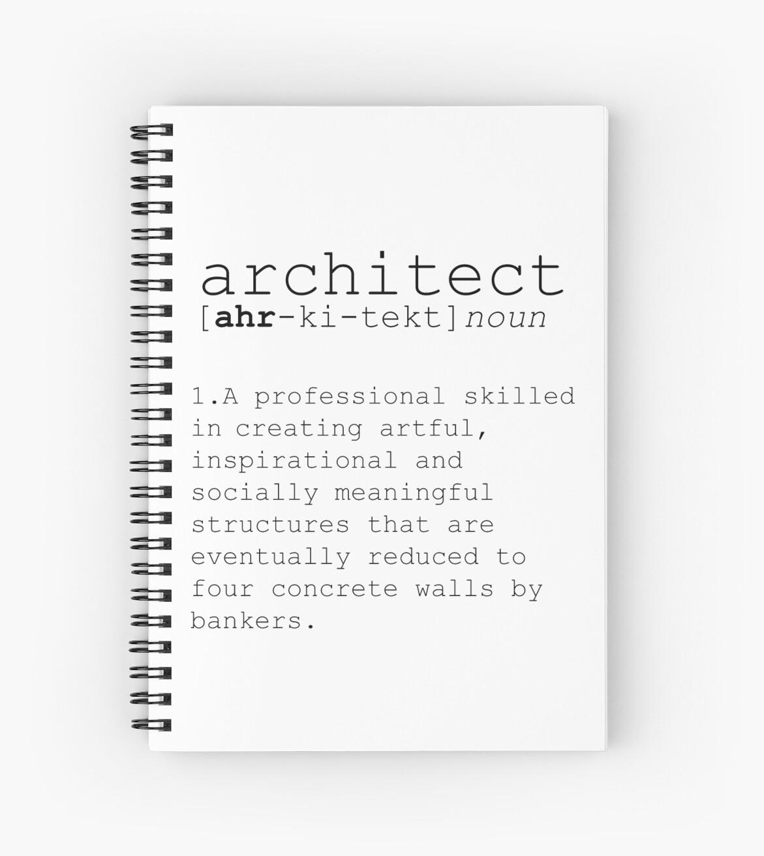 Architect Definition Dictionary Art Print Dictionary Art