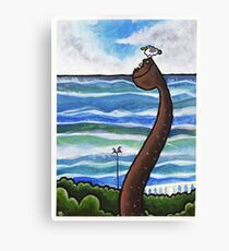 Adelaide Crescent, Hove Canvas Print