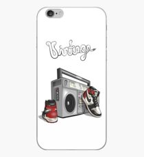 Vintage Hip-hop Basketball Graphic iPhone Case