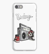 Vintage Hip-hop Basketball Graphic iPhone Case/Skin
