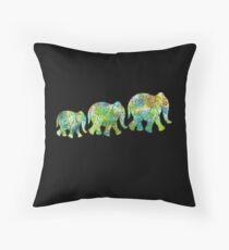 elephant 1 Throw Pillow