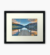 Lake Rotoiti, Nelson Lakes Framed Print