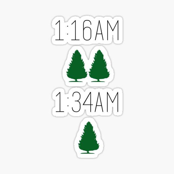 Twin Pines Mall/Lone Pine Mall Sticker