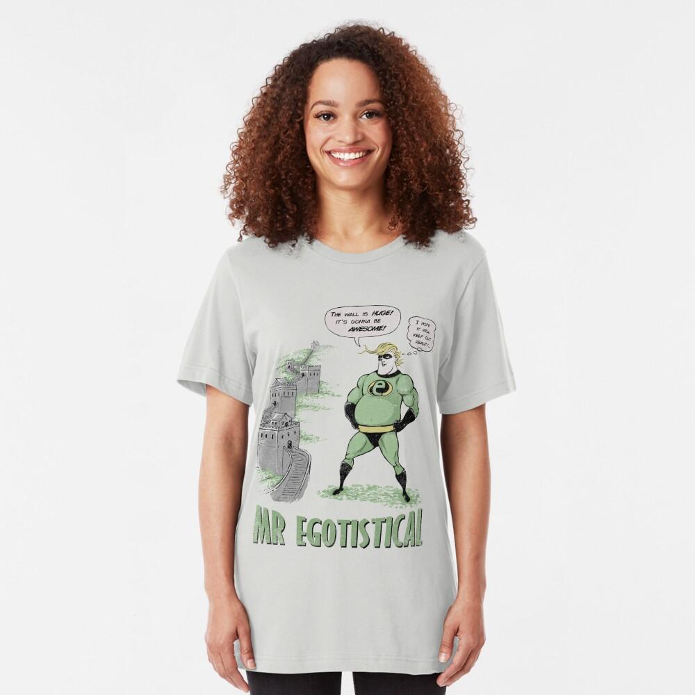 Mr Egotistical Slim Fit T-Shirt