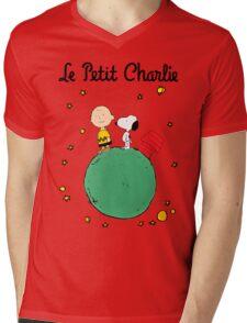 Little Prince Mens V-Neck T-Shirt