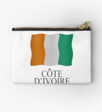 Ivory Coast flag Studio Pouch