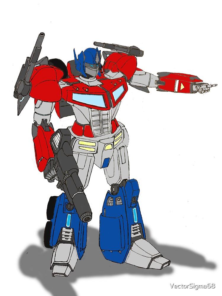 Optimus Prime | Camiseta entallada de cuello redondo