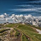 Monte Baldo by Dobromir Dobrinov