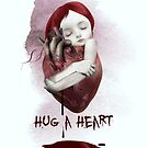 Hug A Heart by Tanya  Mayers