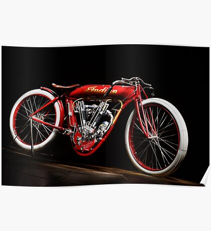 Indian 8-Valve Board Tracker Poster