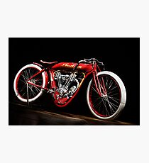Indian 8-Valve Board Tracker Photographic Print