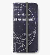 A Court Of Mist And Fury Quote iPhone Wallet/Case/Skin