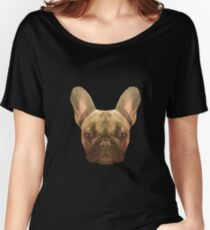 French bulldog. Women's Relaxed Fit T-Shirt