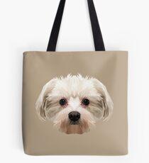 Maltese dog. Tote Bag