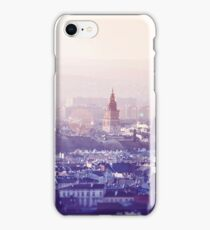 Panoramic view of Old City in Cracow at the sunset iPhone Case/Skin