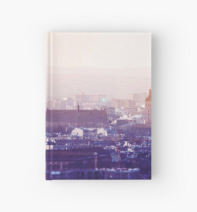 Cuadernos de tapa dura «Vista panorámica de la ciudad vieja en ...