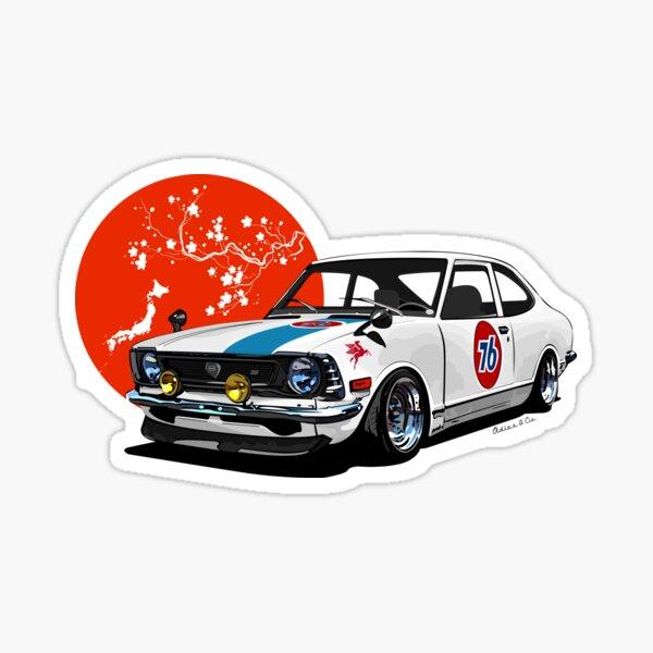 Japan drift Sticker