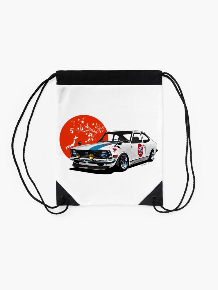 Alternate view of Japan drift Drawstring Bag