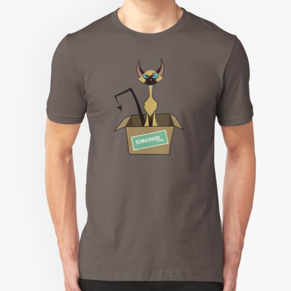 Schrödinger's Pudding Slim Fit T-Shirt