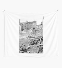 Paris 1975 a forgotten past and now destroyed  Olao-Olavia by Okaio Créations   n3 (h) Wall Tapestry