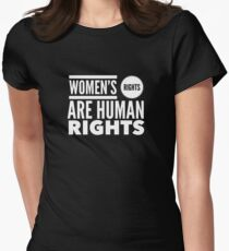 Women's Rights are Human Rights Womens Fitted T-Shirt