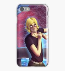 Barnaby Brooks Jr with Parasol iPhone Case/Skin