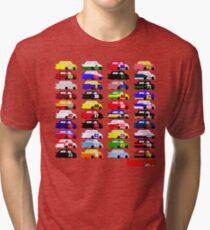 LASTCAR.info - Famous Cars Tri-blend T-Shirt