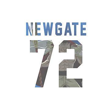 Newgate jersey #72 by Aaronoftheyear