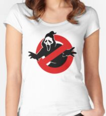 Screambusters Women's Fitted Scoop T-Shirt