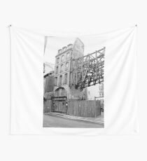 Paris 1975 a forgotten past and now destroyed  Olao-Olavia by Okaio Créations   n5 (h) Wall Tapestry