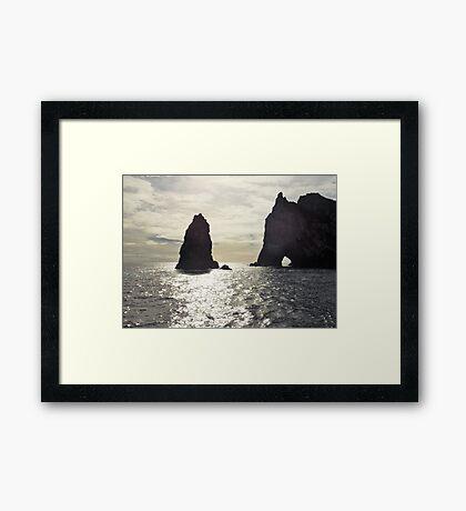 Light and Shade Framed Print