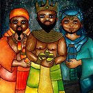 Three Wise Men by Laura Hutton