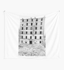 Paris 1975 a forgotten past and now destroyed  Olao-Olavia by Okaio Créations   n8 (h) Wall Tapestry