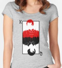 Kell and Lila [A Darker Shade of Magic] Fitted Scoop T-Shirt
