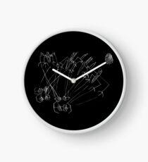 Epic Star Wars Space Battle Death Star Clock