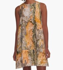 Australian Tree Bark Series #36 A-Line Dress